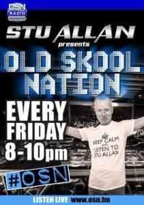Old Skool Nation Friday Poster blue copy